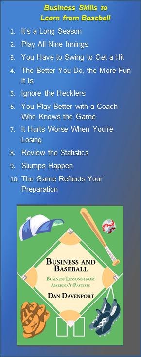 Ten Business Tips to Learn from America's Pastime: Baseball.